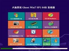 大地系统Ghost Win7 64位 王牌装机版 2021.04